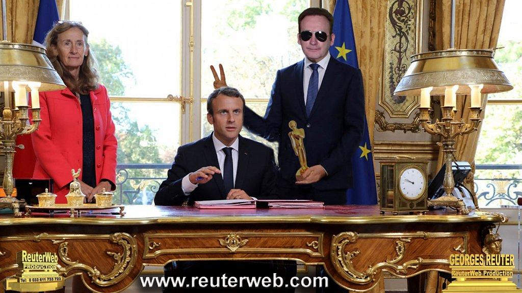 Macron & la Quenelle d'or